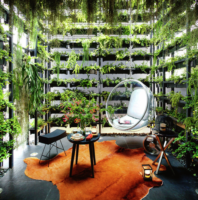 Vertical Garden Apartment In Thailand
