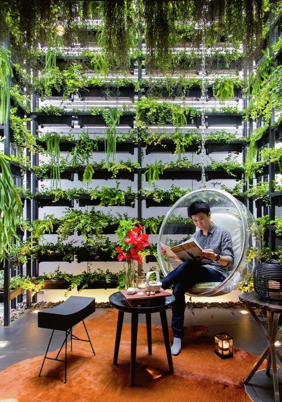 Feature House - Vertical Garden