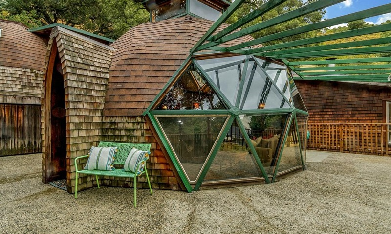Geodesic Dome Home - Glass Panels