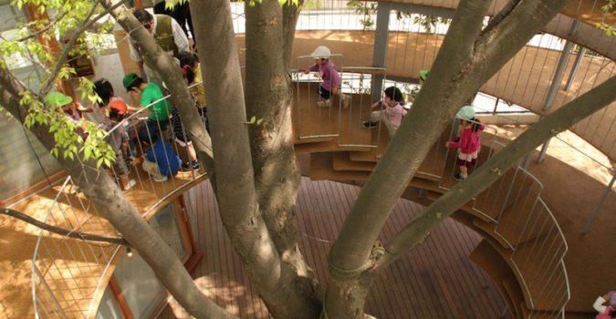 Kinder Garden: Tezuka Architects