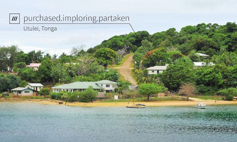 what3words - Tonga