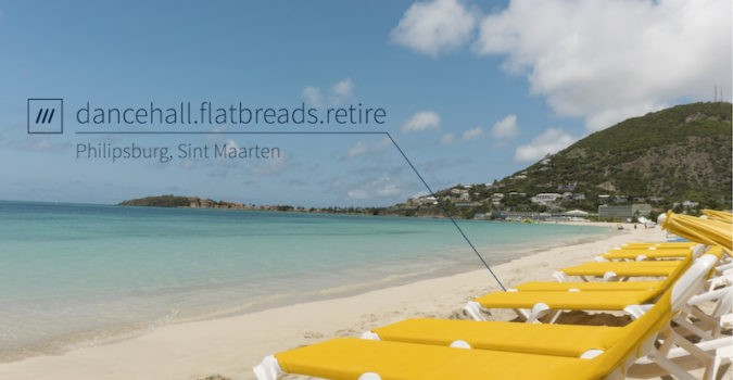 what3words - St. Maarten
