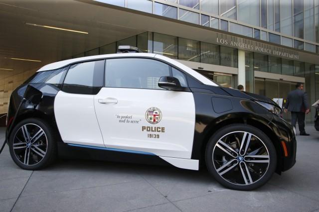 LAPD Electric Fleet