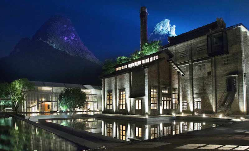 Chinese sugar mill converted into quaint hotel for Quaint hotel