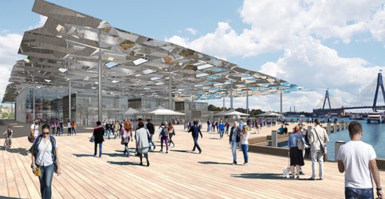 Sydney Fish Markets - AJ+C and NH Architecture