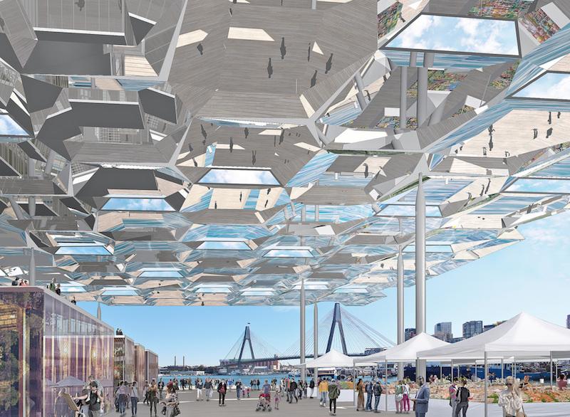 Sydney Fish Markets - AJ+C and NH Architecture