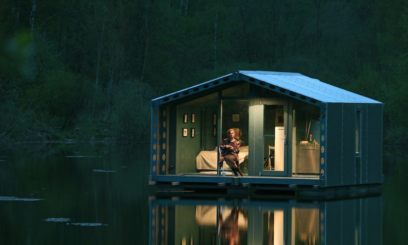 DD16 Floating Cabin - BIO Architects