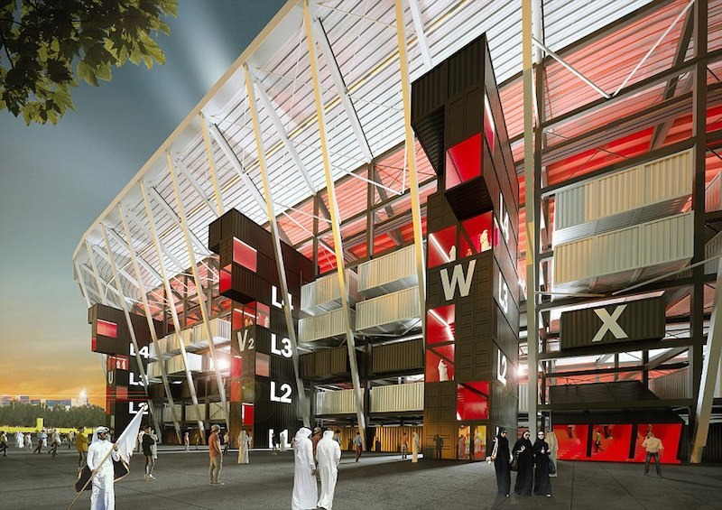 Ras Abu Aboud Stadium - Fenwick Iribarren Architects