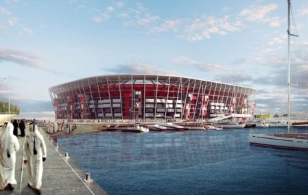 Ras Abu Aboud Stadium - Fenwick Iribarren Architects
