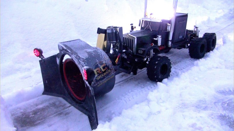 Rotary Snow Plow - RCSparks Studio