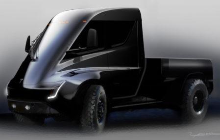 Tesla Electric Pick-Up Truck