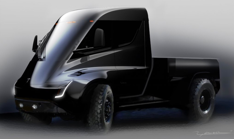 Tesla Electric Pick-Up Truck