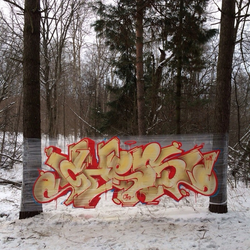 Cellograffiti - Evgeny Ches