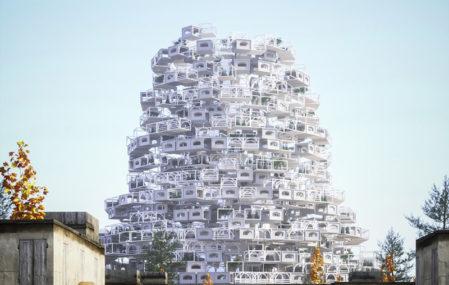 New Babel Tower - Kurtulus Göktas + Mohamed Abdellatif + Demet Karabacak