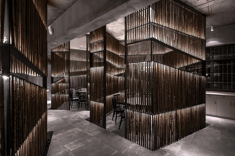 Dine in a Bamboo Forest at This Ultra-Private New Restaurant in China