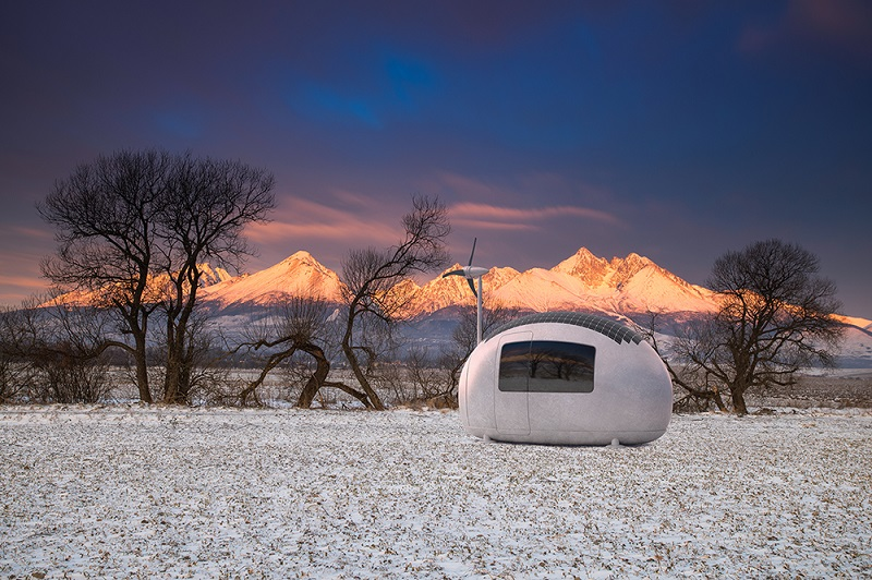 """Want to Get Away"""" Make Any Place Home with an Ecocapsule"""