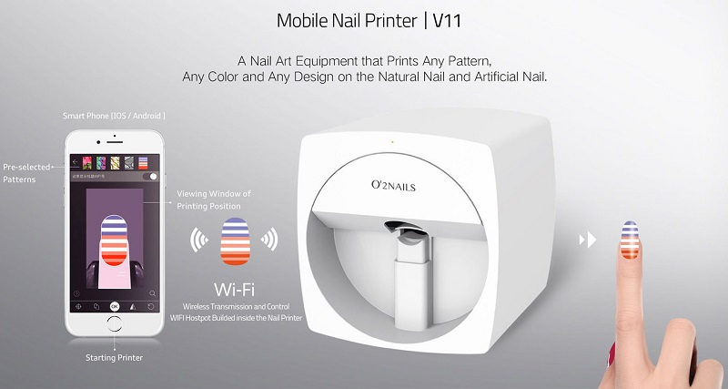 O\'2 Nail Art Printer Gives You a Salon-Quality Experience from the ...