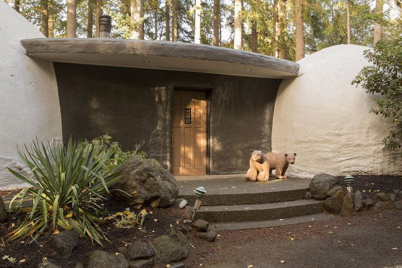 Hobbit House for Sale: Quirky Dome Home in the Woods of Oregon