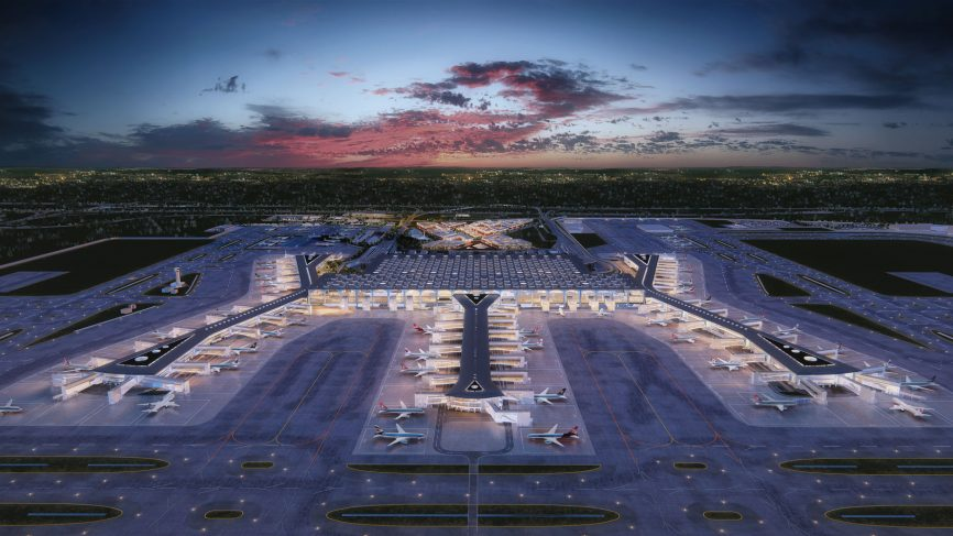 Istanbul's Stunning New Airport is Larger Than Manhattan