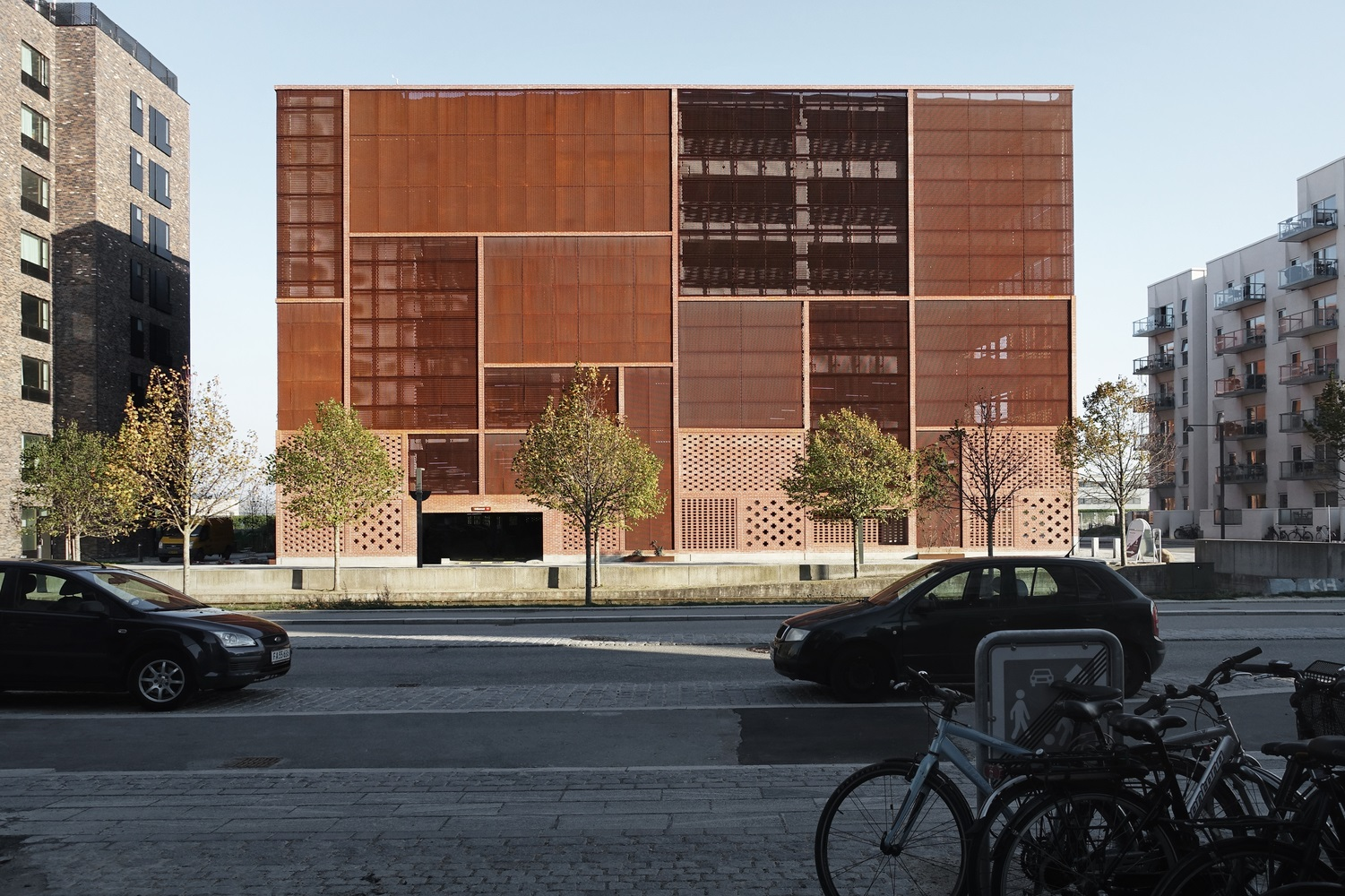 Parking House Ejler Bille is a Prime Example of Human Scale Infrastructure
