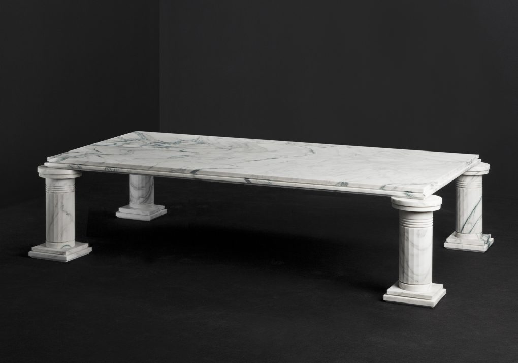 """Fashion Designer Karl Lagerfeld Tackles Furniture with New """"Architectures"""" Collection"""