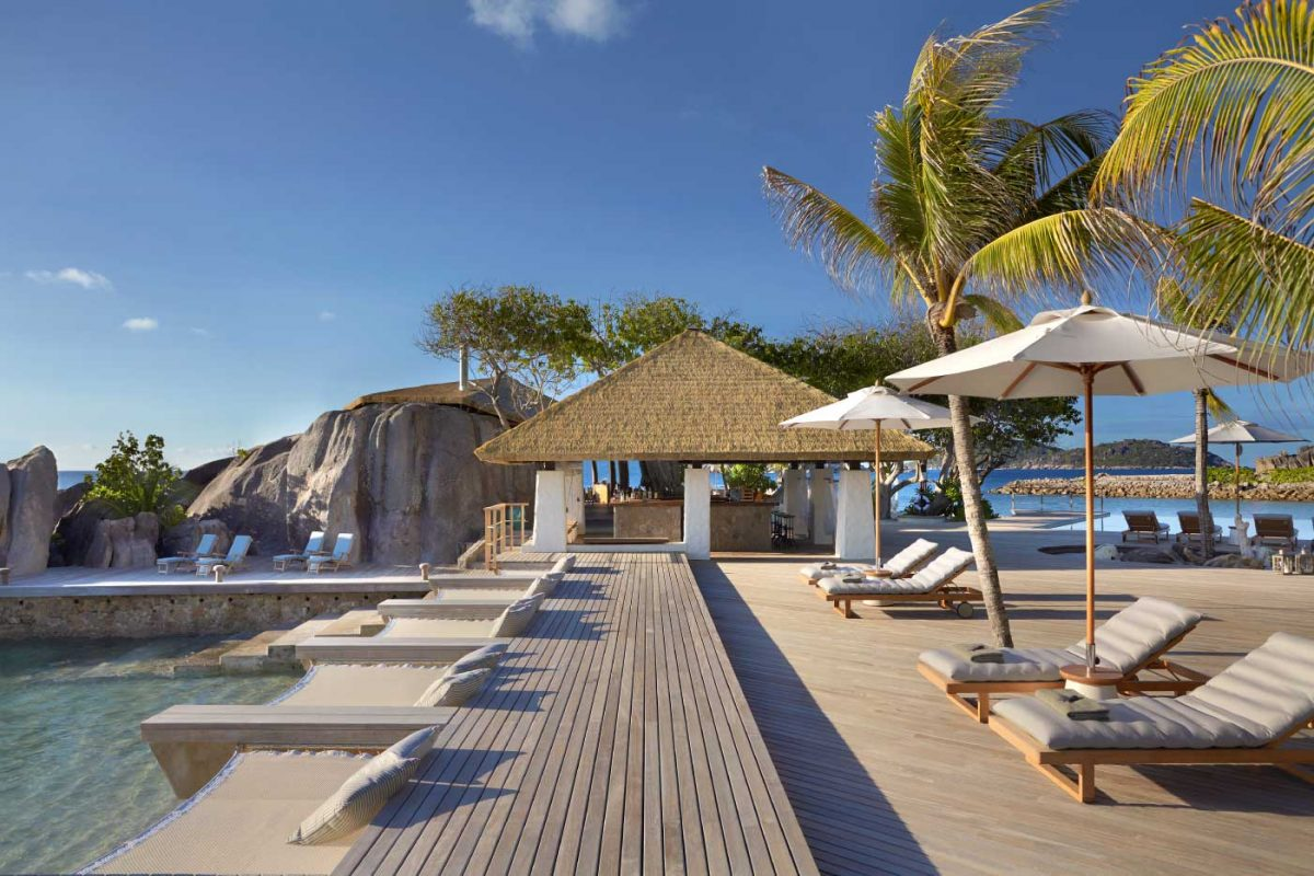 Escort island private resort