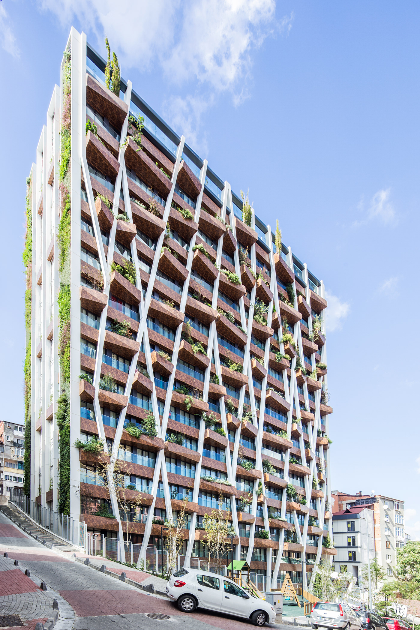 The Towering GREENOX Urban Residence is Turkey's First Vertical Forest