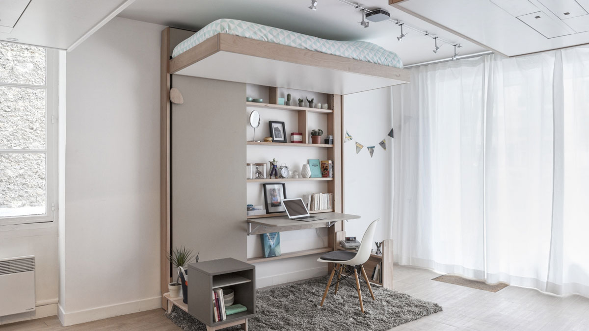 Hanging Hideaway Loft Bed Design Designs Ideas On Dornob