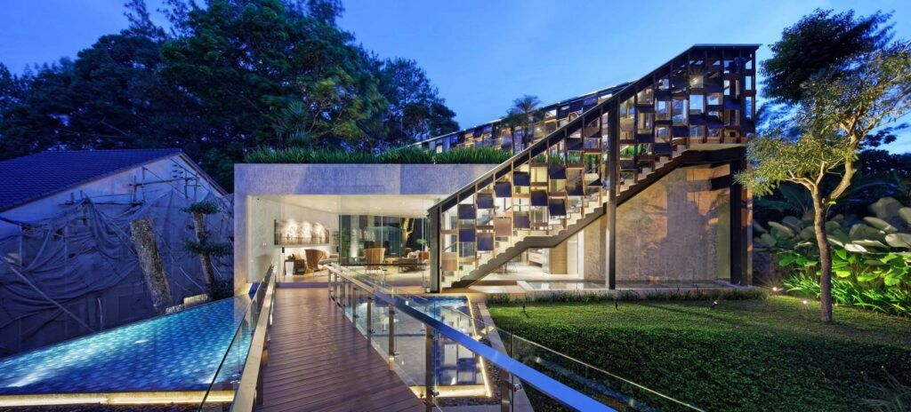 Hanging Villa Is A Dreamy Green Getaway In Indonesia
