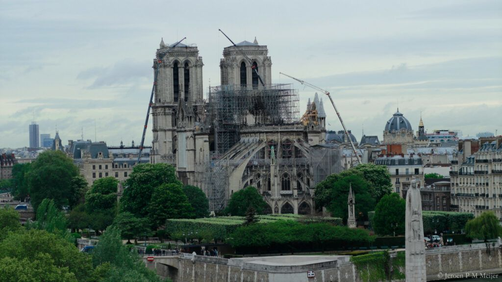 Notre Dame Restoration Halted Due to High Lead Levels