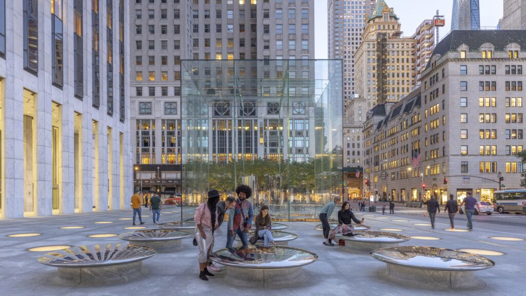 Apple?s Iconic Fifth Ave Store Gets an Update from Foster + Partners