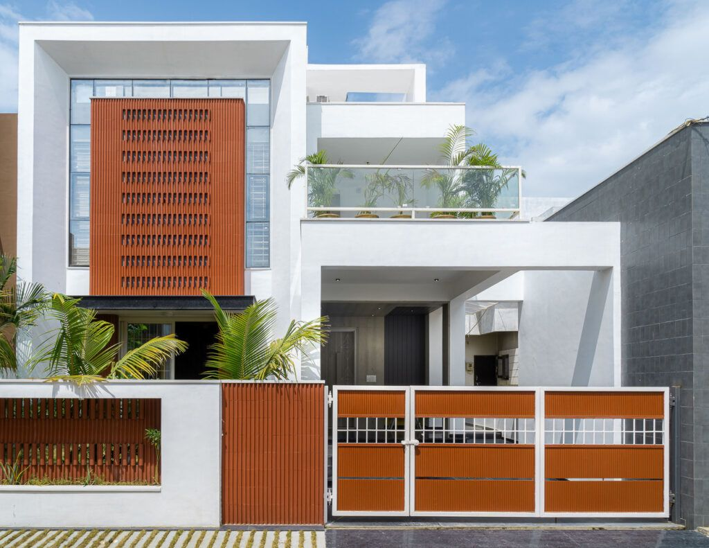 Clay Tiles Bring Passive Heating To New House In India Designs Ideas On Dornob